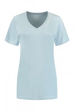 SOHO V-hals Shirt - Future Skyline