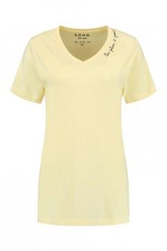 SOHO V-hals Shirt - Future Vanilla