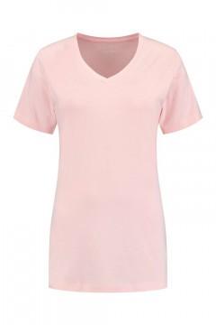 SOHO V-hals Shirt - Future Light Rose