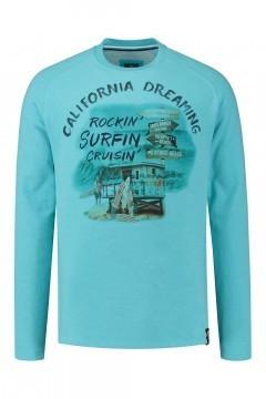 Kitaro Sweater - California Dreaming blauw