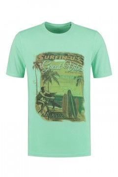 Kitaro T-Shirt - Great Vibes Groen