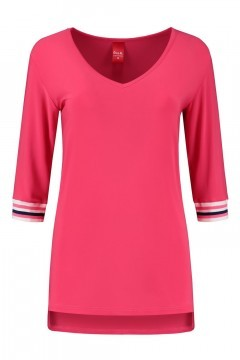 Only M - Top korte mouw roze