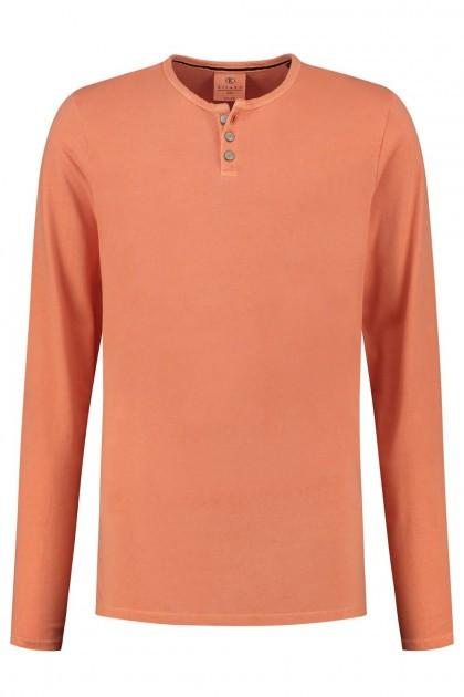 Kitaro Longsleeve T-Shirt - Oranje