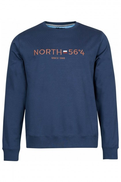 North 56˚4 Sweater - Since 1998 Navy