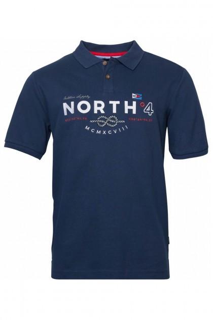 North 56˚4 Polo - Knot Navy