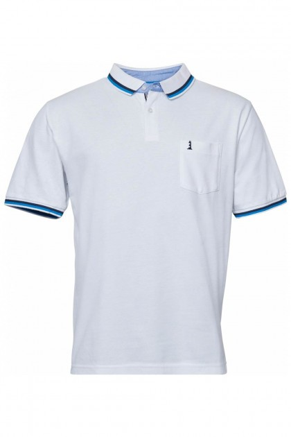 North 56˚4 Polo - Lighthouse White