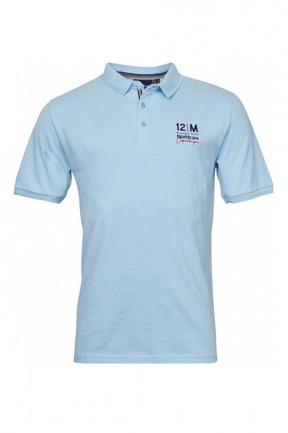 North 56˚4 Polo - Copenhagen Light Blue