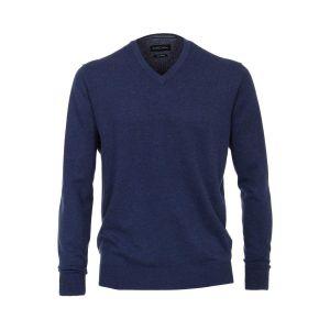 Casa Moda V-hals sweater - Blauw