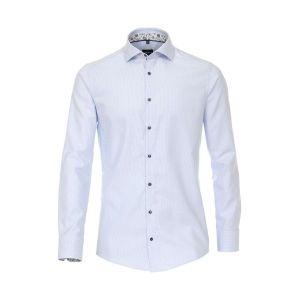 Venti Modern Fit Overhemd - Hai Lichtblauw