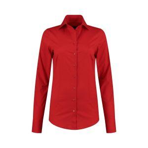 Sequoia - Basic blouse rood