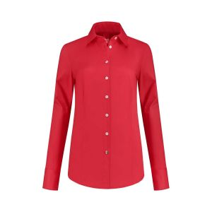 Only M - Blouse Basic Rood