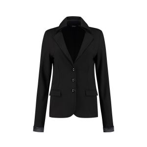 Chiarico - Korte Blazer Punto Zwart