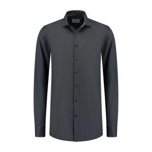 Corrino overhemd - Oxford Antraciet