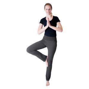 We Love Long Legs - Yogabroek donkergrijs