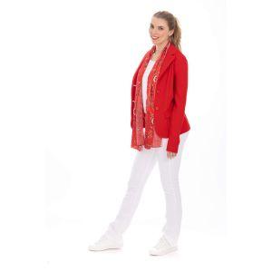 Only M Blazer - Tiffany rood