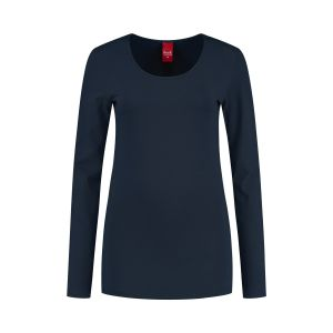 Only M - Basic ronde hals top navy