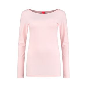 Only M - Basic boothals top roze