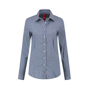 Only M - Blouse Righe Navy