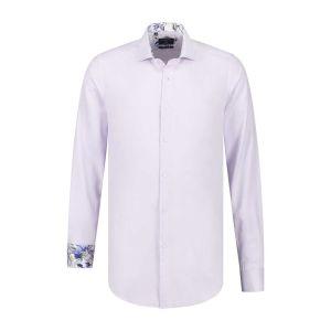 Corrino overhemd - Oxford Lila