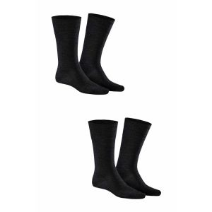 Kunert - Comfort Wool 2-Pack Black