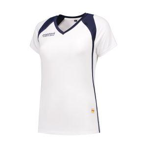 Panzeri Milano Cap Sleeves Shirt - wit