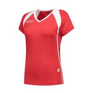 Panzeri Milano Cap Sleeves Shirt - rood