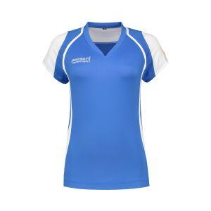 Panzeri Cannes Cap Sleeves Shirt - Blauw