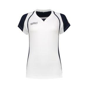 Panzeri Cannes Cap Sleeves Shirt - Wit