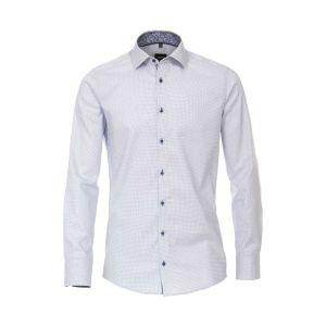 Venti Modern Fit Overhemd - Kent Lichtblauw