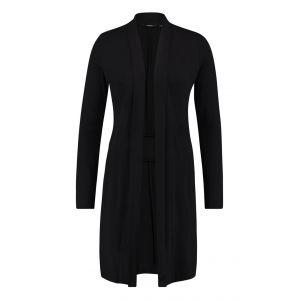Chiarico - Vest Long Zwart